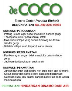 decoco instruksi
