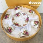 CAPODIMONTE 12pc Tea Cup : VA Series
