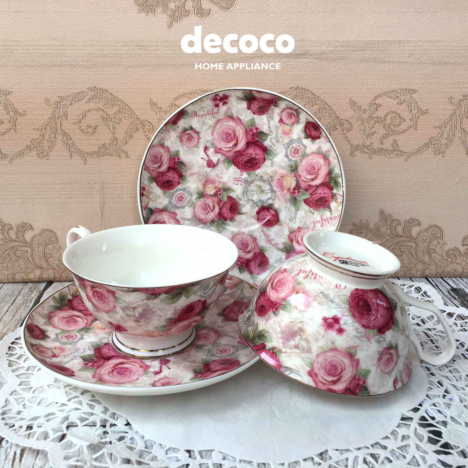CAPODIMONTE-CUP-SAUCER-4PC-BD103-4-