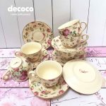 CAPODIMONTE Tea Cup Mini 12pcs C33A  4.5