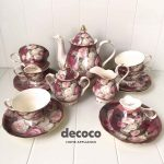 CAPODIMONTE Tea Set 17pcs CHB2