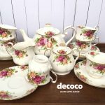 CAPODIMONTE Tea Set 17pcs VA Series