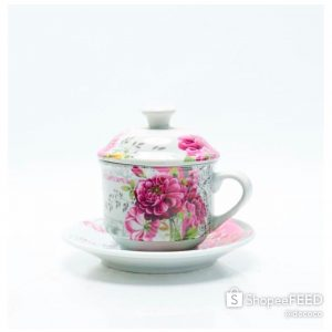 CAPODIMONTE CUP SAUCER 18PC SL2071--
