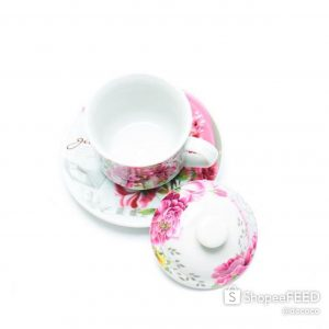 CAPODIMONTE CUP SAUCER 18PC SL2071-